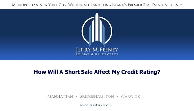 How Will a Short Sale Affect My Credit Rating?